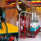 Equipo de la molinería del trigo