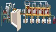 Maquinaria de la molinería del trigo