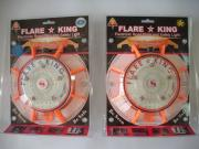 Flare-King Road Flare Flashing Unit Single Clam Shell Package