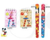 Michey/Minnie Symbol Magnets & Mini Ball Pen in Transparent