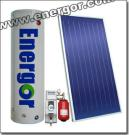 Flat Plate Type Solar Water Heating Systems with High Quality