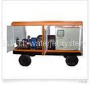 High-Pressure Waterjet Cleaning Machine