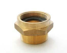Brass Female To Male Hex Nipple. Female To Male Threads