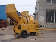 Diesel Hydraulische Concrete Mixer