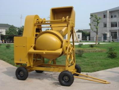 Portable Diesel Concrete Mixer