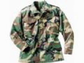 군 삼림 지대 위장 M65 재킷