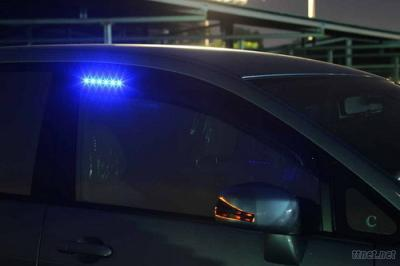LED Window visor ,LED Window deflector