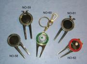 Golf Inserts/Key Chain