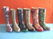 Ladies Wellington Rubber Rain Boots