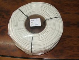 シリコーンゴムのガラス繊維の絶縁にスリーブを付けること