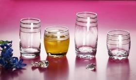 Cristalleria, tazza di vetro