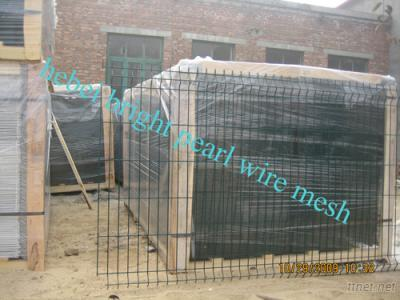 Wire Mesh Fence, PVC Coated Welded Wire Fence