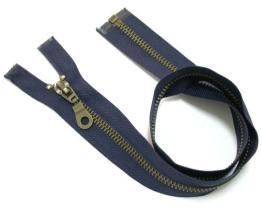 Antique Brass Zipper