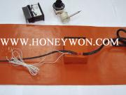 Silicone Rubber Heater With Built-Out Thermostat