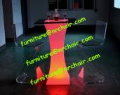 Acrylic LED Cocktail Table