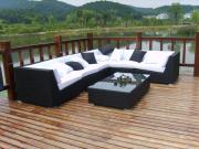 Outdoor Furniture Sets Wicker Rattan Garden Sofa