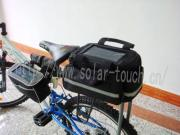 Solar Bicycle Bag