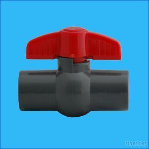 Plastic PVC Compact Ball Valve Upvc