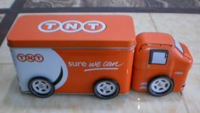 contenitore impaccante unico di latte di figura, della latta del camion, del regalo e della latta di promozione