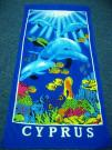 100% Cotton Full Reactive Printed Beach Towel