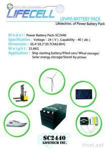 LiFePO4 Batteries Pack LFP