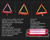 LED 경고 삼각형