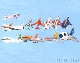 Het Opblaasbare Vliegtuig van pvc