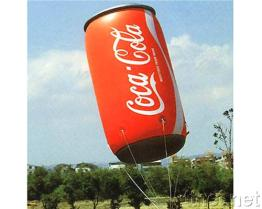 Advertising Giant Can - Helium Inflation