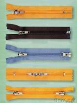 De nylon Ritssluitingen (van de Polyester)