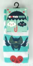 OEM Owl & Hearts Knee High socks