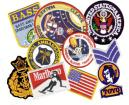 Iron-on Embroided Patches and Appliques