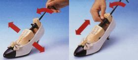 De Brancard van de schoen