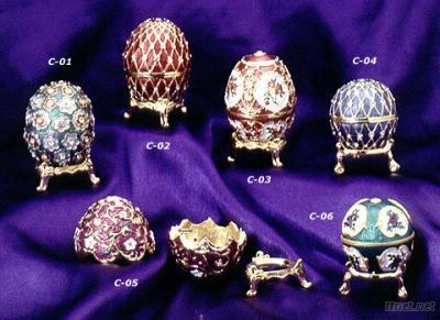 Egg-shaped Storage Case