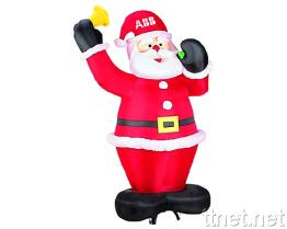 Inflatable Santa Claus with Internal Blower & Lights
