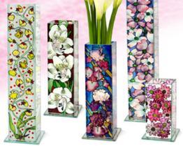Hand-Farbe Vaseen-Reihe