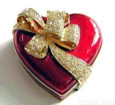 De Dozen van juwelen