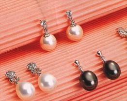 Серьги перлы