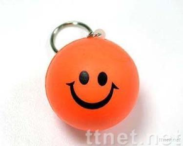 Keyring-Smiling Ball
