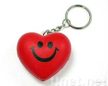 Keyring-Small Red Heart