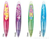 Des Torsion-Gel-Tintefeder-/Ballpoint-Pen/2 Farbe füllt Feder wieder