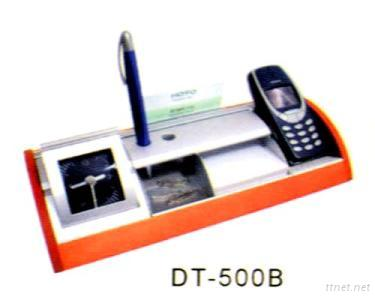 Wood and Aluminum Desk-top Accessories