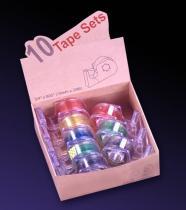 착색된 투명한 중핵 w/Dispenser에 최고 명확한 테이프