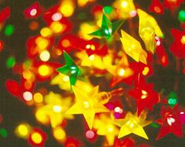 별 나무 빛
