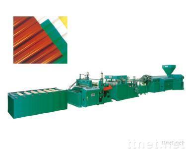 PVC  Rigid Corrugated Roofing Sheet Making Machine