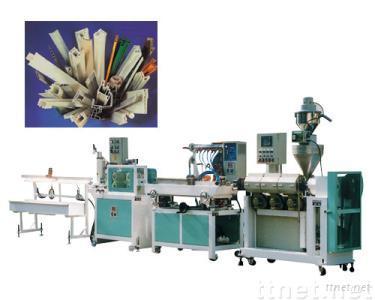 Single Screw PP/PVC/PS Profile Making Machine
