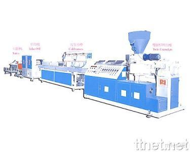 Twin Extruder Profile Extrusion Line