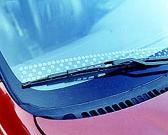 Rainbow Auto Cleaner Sheet of Windshield Wiper
