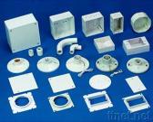 Пластичные коробка стены & вспомогательное оборудование & держатель потолочной лампы
