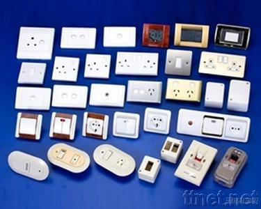 European Type Wall Plate Switch & Socket