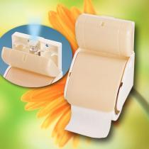 De Automaat van het aërosol en de Houder van het Toiletpapier